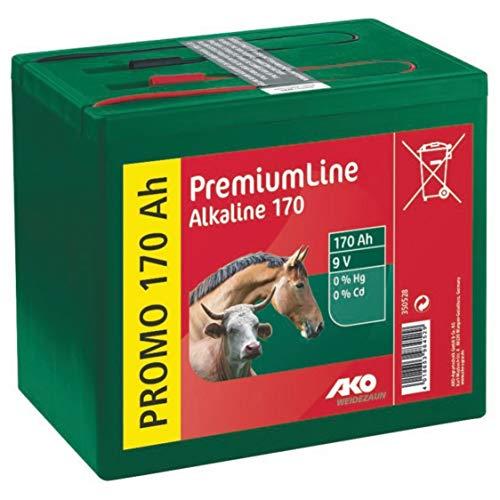 Kerbl 350528 Alkaline 9 Volt Trockenbatterie