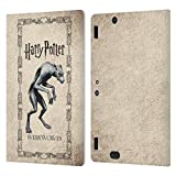 Head Case Designs Licenciado Oficialmente Harry Potter Criaturas de Hombres Lobo Prisoner of Azkaban III Carcasa de Cuero Tipo Libro Compatible con Amazon Kindle Fire HDX 8.9