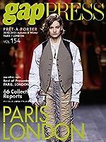2020-2021 A/W gap PRESS vol.154 PARIS&LONDON (gap PRESS Collections)