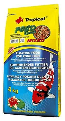 Ração Para Peixes Pond Sticks Mixed 4kg Tropical Tropical Para Peixes