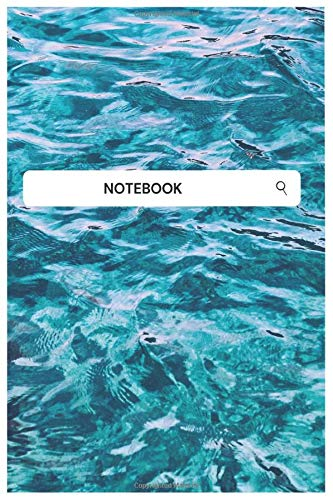 Blue Ocean Month Notebook Lined Notebook Journal: Creativity (Books) , Art Therapy & Relaxation , Book Making & Binding (Books)