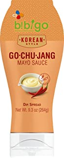 bibigo Gochujang Sauce, Spicy Mayo, Korean-Style, 9.3-Ounce, Squeezable Bottle