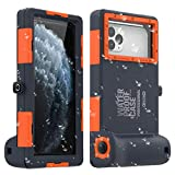 AICase Funda Impermeable Universal,15m Foto Submarina Profesional Móvil Impermeable para iPhone 11 Pro MAX XS MAX XR X 8 7 6S Plus,Funda estanca para Galaxy Note10 10 s9 S9 de hasta 6.8'