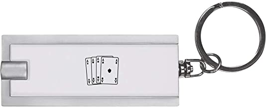 'Ace Playing Cards' Keyring LED Torch (KT00008758)