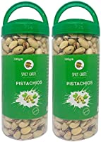 Spicy Carte Premium Salted and Roasted Pistachios, 1Kg