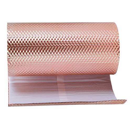 Stabilo Kaminanschlussband, Wandanschlussband, Anti Moos Stop aus Kupfer, Moosstop, Kupferband, Kupferrolle selbstklebend, 300 mm