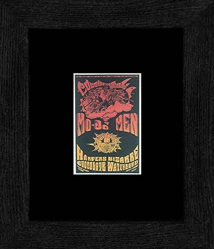 Mojo Men Harper Bizarre - Continental Ballroom Santa Clara 1967 Framed Mini Poster - 20x18cm