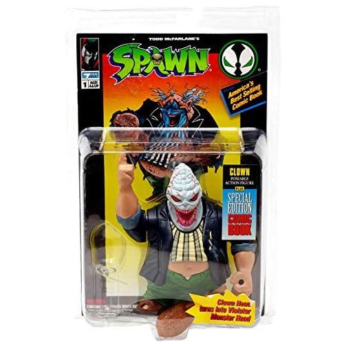 Spawn Series 1 - Clown Figure by McFarlane
