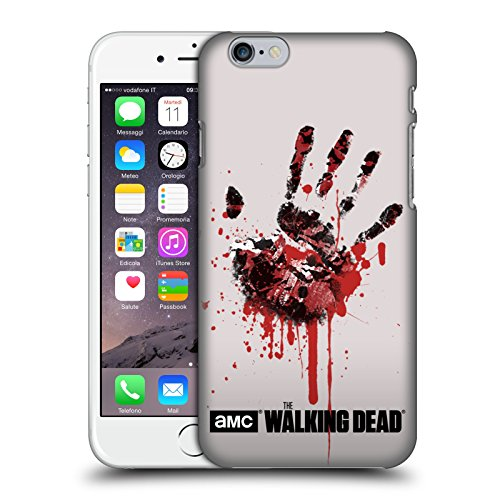 Head Case Designs Offizielle AMC The Walking Dead Hand Silhouetten Harte Rueckseiten Huelle kompatibel mit Apple iPhone 6 / iPhone 6s