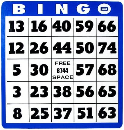Large Max 72% OFF Print Don't miss the campaign Bingo Card