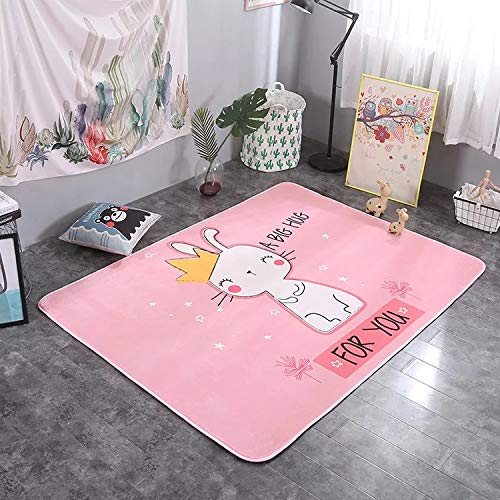 Learn More About Fancy Rabbit Bear Pattern Soft Comfort Toddler Baby Play Mat for Travelling Sponge ...