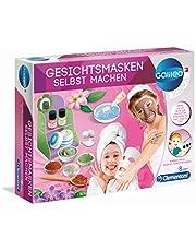 Clementoni 59171 Galileo Science - Mascarillas faciales de bricolaje, mascarillas hidratantes y perfumadas, juguetes para niños a partir de 8 años (Producto Español)