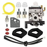 Hayskill HHT35 GX35 Carburetor for Honda GX35NT Engine HHT35S String Trimmer Replace 16100-Z0Z-815 WYB-16C 16100-Z0Z-034 Carb w Air Filter Fuel Primer Bulb