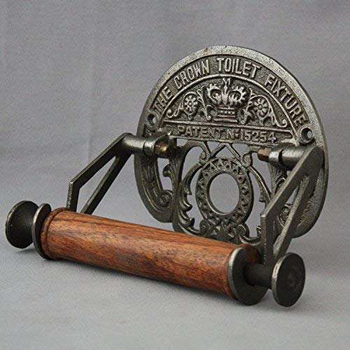 Inspiriert Antik Aus Schwarzem Eisen Toilettenpapierhalter