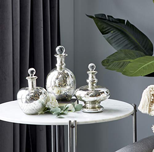 Deco 79 Decorative Objects, Silver