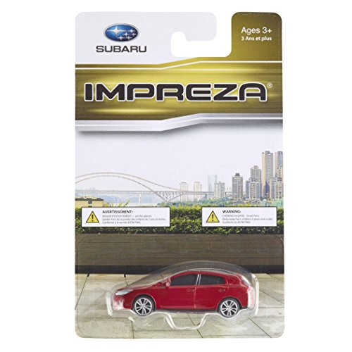 Subaru Official Genuine 2015+ Impreza Sport 1/64 Die Cast Toy Car 265554 RED New OEM