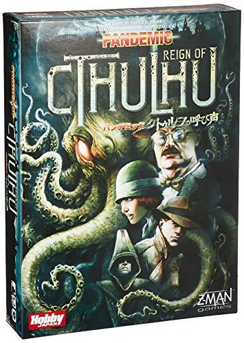 Pandemic: Cthulhu Call of (Pandemic: Reign Of Cthulhu) Japanse versie van het bordspel