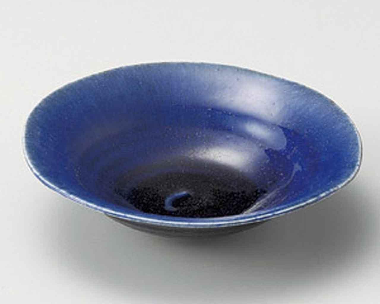 Credence Magatama 7.6inch Set of 2 Medium Over item handling ☆ porcelain Plates J in Blue Made