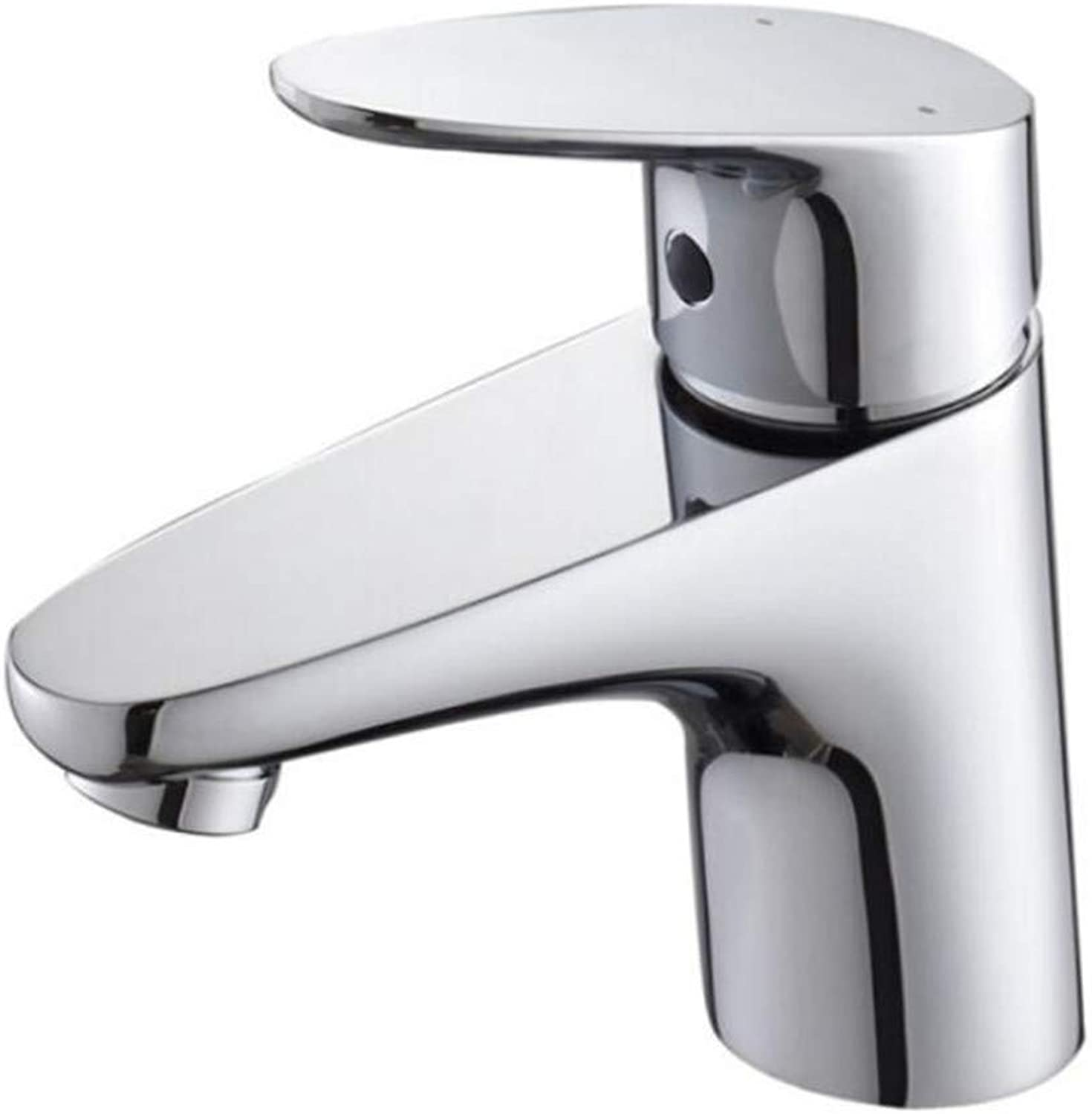 Faucet Waste Mono Spoutcopper Single Hole Hot and Cold Water Basin Mixer Bathroom Faucet