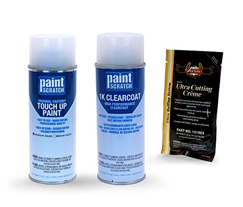 PAINTSCRATCH Touch Up Paint Spray Can Car Scratch Repair Kit - Compatible/Replacement for Toyota Highlander Predawn Grey Mica (Color Code: 1H1)