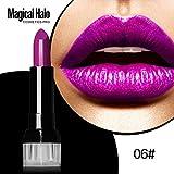 12 Colores Profesional Pintalabios Mate Labial de Maquillaje Larga Duracion para Niñas por ESAILQ E