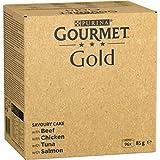 Nestlé Purina Gourmet Gold Comida Húmeda para Gatos Pack Surtido Tartalette 96 Unidades 8160 g