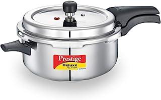 Prestige PRASVDP PRESSURE COOKER, Deep Pan 5L, SILVER