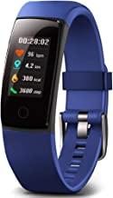 Waterproof Health Tracker,MorePro Fitness Tracker Color Screen Sport Smart Watch,Activity Tracker with Heart Rate Blood Pr...