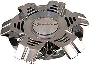 Giovanna Wheels Chrome Custom Wheel Center Cap # 1711K172 998X75 ONE CAP