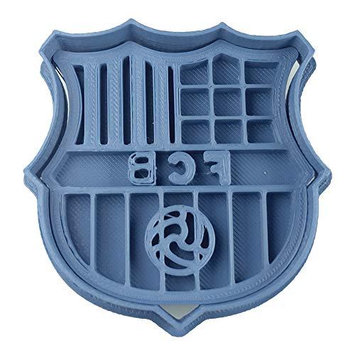 Cuticuter Fútbol Barcelona Cortador de Galletas, Azul, 8x7x1.5 cm