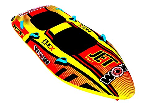 WOW Sports World of Watersports 17-1020 Jet Boat 2 Person Towable