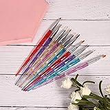 Nagellack Pinsel Set ail Punktierwerkzeug Nagellack Stift Praktisch für Nail Art Anfänger für...