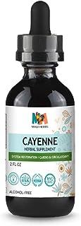 Sponsored Ad - Cayenne Tincture 2 FL OZ Alcohol-Free Extract, 90 000 HU Organic Cayenne Pepper (Capsicum annuum)