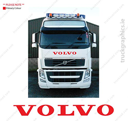 Volvo FH Globetrotter Front Grill Sticker - 03