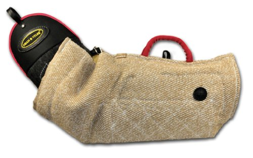 Dean and Tyler Intermediate Bite Double Sleeve, Jute - Fits Right Hand