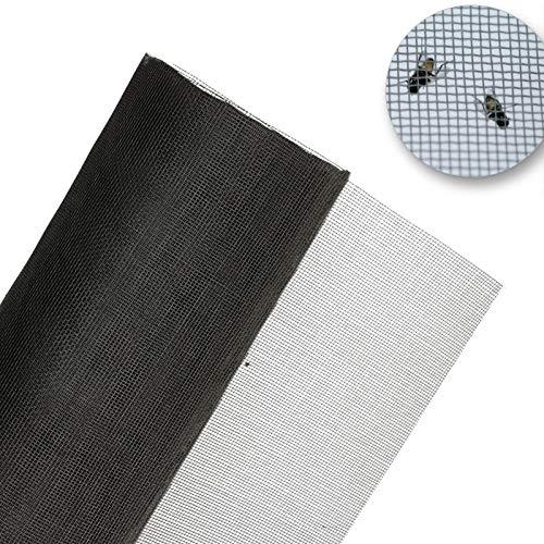 Malla para insectos, 60cm de ancho, fuego y agua resistente para moscas, mosquitos, palomillas y insectos. (1 metro de largo)