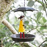 garden mile® Novelty Metal Hanging Chain Girl and...