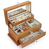 Best Kendal Jewelry Boxes - Kendal Jewelry Box Girls Jewelry Organizer Mirrored Mini Review