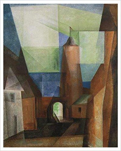 1art1 Lyonel Feininger - Der Grützturm In Treptow Poster Kunstdruck 60 x 48 cm