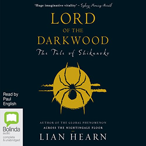 Lord of the Darkwood audiobook cover art