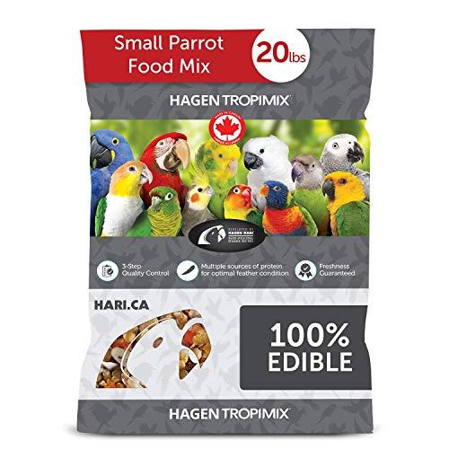 Tropimix Small Parrot Food, Healthy Blend of Grains, Legumes, Fruits, Nuts and Vegetables, 20 lb Bag