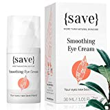 Natural Sensitive Eye Cream with Anti-Wrinkle Support, All Natural and Vegan for Sensitive Dry Skin, Dark Circles, Bags and Puffiness 1.01 Fl. Oz.