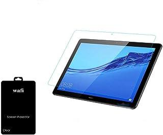 هواوي ميديا باد تي5، 10.1 انش - Media Pad T5, 10.1 inch لاصق حماية شاشة زجاجي ضد الصدمات و الخدوش من وافي