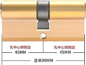 Slotcilinder Cilinder Anti-diefstalslot 65 70 80 90 115mm Cilinder Biased Lock Entree Brass deurvergrendeling verlengde ke...