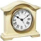 Towcester Clock Works Co. Acctim 33282 Falkenburg - Reloj analógico de Mesa, Color Crema