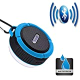 AGT All-in-one Wireless and Mini Sucker Speaker with USB and Waterproof Portable for Biking Swimming Hiking BBQ Beach Sports