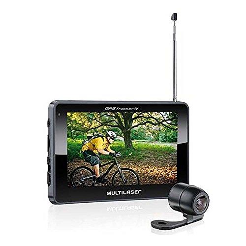 Multilaser Gps Lcd 4,3 Pol. Touch Tv Digital Rádio Fm Com Câmera De Ré Avin - Gp035