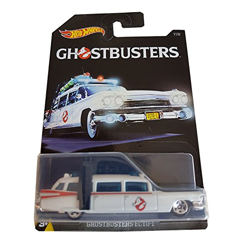 Hot Wheels Ghostbusters Ecto-1 7/8