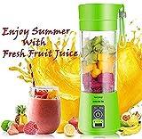 Softpix Rechargeable Portable Electric Mini USB Juicer Bottle Blender for Making Juice,Shake,Smoothies,Travel Juicer
