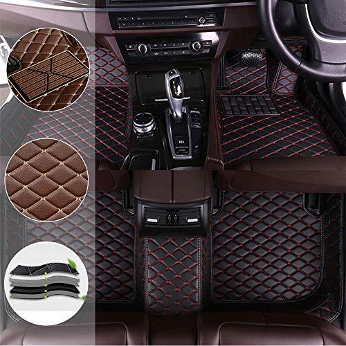 Sadge Autoteppiche für Toyota Land Cruiser Prado 120 Personalisierte Fußmatten, vorne, hinten, wasserdicht, rutschfest, für Auto